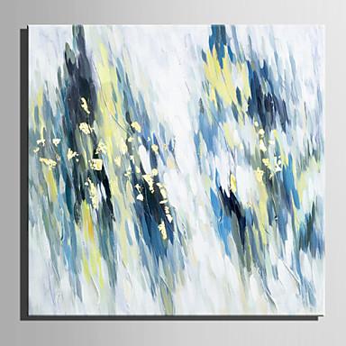 Hang-Painted öljymaalaus Maalattu - Abstrakti Retro Kangas