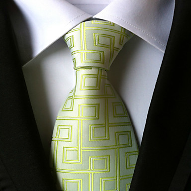 Men's Neckwear Necktie - Houndstooth