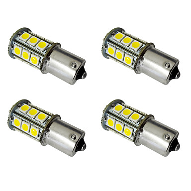 billige Baklys til bil-4stk 1156 / 1157 Bil Elpærer 2.5W SMD 5050 200lm LED utvendig Lights