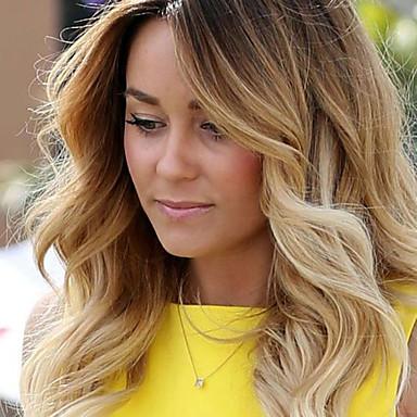 Remi-Haar Spitzenfront Perücke Lose gewellt 130% Dichte 100 % von Hand geknüpft Afro-amerikanische Perücke Natürlicher Haaransatz