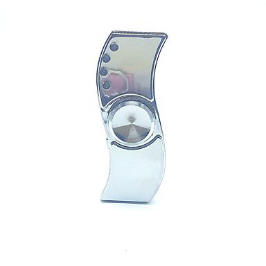 hand Spinner Lelut Office Desk Lelut Ladattava LED-valo Neliskulmainen Metallinen Pieces Aikuisten Lahja
