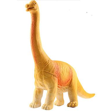 Dragões & Dinossauros Figuras de dinossauro Dinossauro jurássico Apatosaurus Triceratops Tiranossauro Rex Plástico Para Meninos Crianças