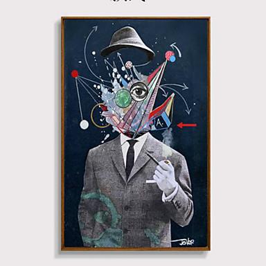 Personen Gerahmte 3D Kunst Wandkunst,Polystyren Stoff Mit Feld For Haus Dekoration Rand Kunst Wohnzimmer Schlafzimmer Kinderzimmer 1piece
