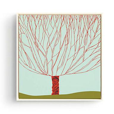 Květiny a rostliny 3D umění v rámu Wall Art,Polystyren Materiál s rámem For Home dekorace rám Art Obývací pokoj Ložnice dětský pokoj1ks /