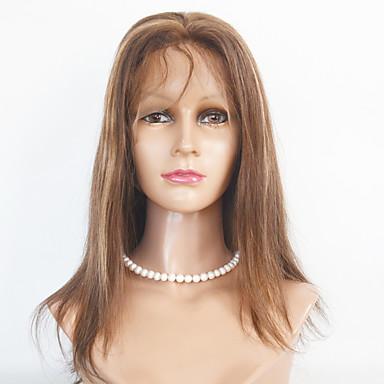 Ženy Dlouhý Medium Auburn Tmavá kaštanová Medium Brown / Strawberry Blonde Rovné Umělé vlasy Se síťovanou přední částí Přírodní paruka