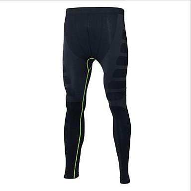 Miesten Juoksutrikoot - Musta, Punainen / musta, Musta / Vihreä Urheilu Pants Activewear Fitness, Juoksu & Yoga, Nopea kuivuminen, Ulkoilu