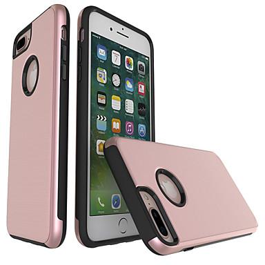 Hülle Für Apple iPhone 7 Plus iPhone 7 Stoßresistent Rückseite Volltonfarbe Hart PC für iPhone 7 Plus iPhone 7 iPhone 6s Plus iPhone 6s
