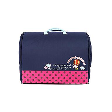 Cachorro Camas Animais de Estimação Capachos e Alcochoadas Sólido Poá Desenho Animado Portátil Macio Elástico Vermelho Azul Rosa claro