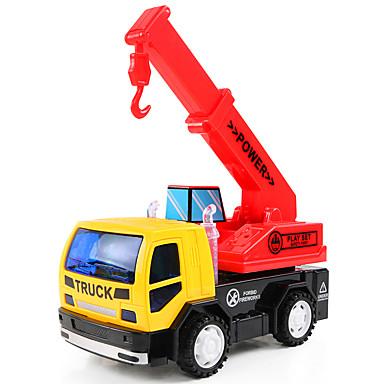 Carros de Brinquedo Brinquedos Veiculo de Construção Guindaste Escavadeiras Brinquedos Maquina de Escavar Plásticos Peças Crianças Para