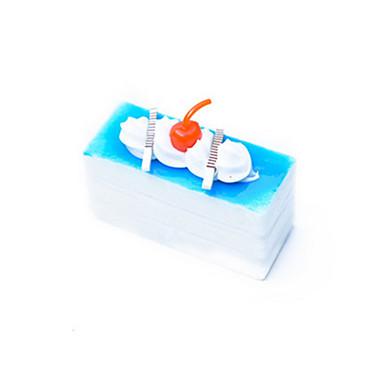 Comida de Brinquedo Brinquedos de Faz de Conta Brinquedos de Montar Brinquedos Bolo Sobremesa Plásticos Unisexo Peças