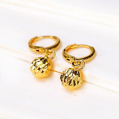 Mulheres Brincos Compridos - Original, Pingente, Vintage Dourado Para Casamento Festa Noivado