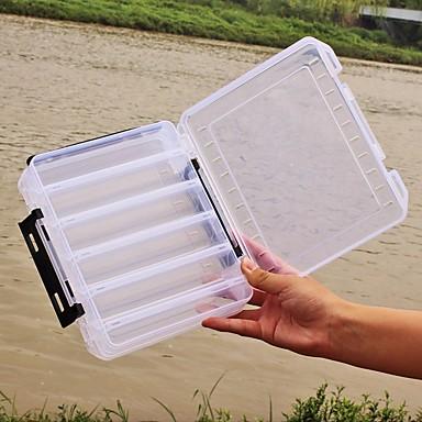 Caixas de Pesca Caixa de Isco 2 Bandejas Plásticos 20*6 3/4