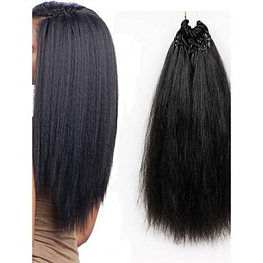 お買い得  ヘアエクステンション-ブレイズヘア ハバナ 前のループかぎ針編みの三つ編み / 人毛エクステンション カネカロン 26ルーツ 髪の三つ編み 18 インチ 日常