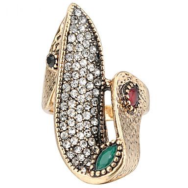 Mulheres Luxo Boêmio Cristal Resina Anel Anel de declaração - Outros Personalizada Luxo Original Clássico Vintage Rhinestone Boêmio