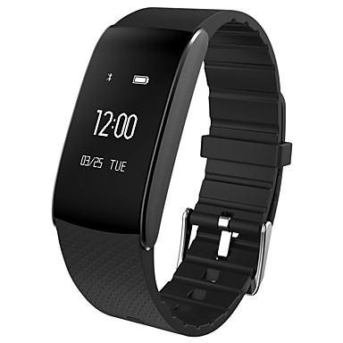 Smart Bracelet Smartwatch iOS / Android Water Resistant / Water Proof / Sports / Heart Rate Monitor Gravity Sensor / Proximity Sensor / Heart Rate Sensor Silicon / Alloy White / Black / Red