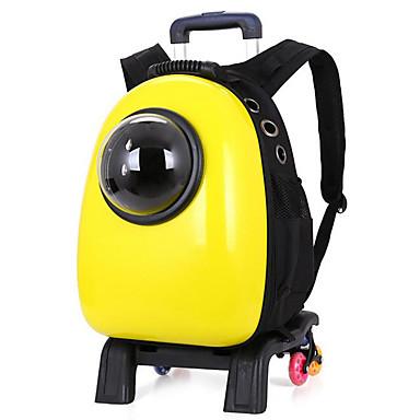 Gato / Cachorro Tranportadoras e Malas Animais de Estimação Transportadores Portátil / Respirável Sólido Amarelo / Verde