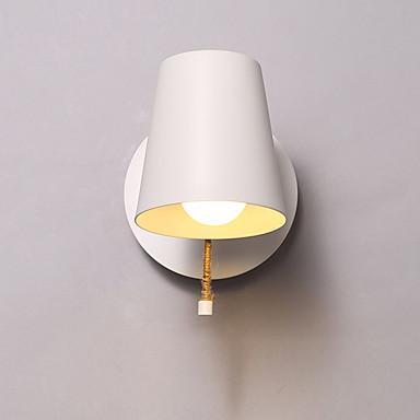 Moderno - Contemporaneo Lampade Da Parete Per Metallo Luce A Muro 110-120v 220-240v 60w #06057922