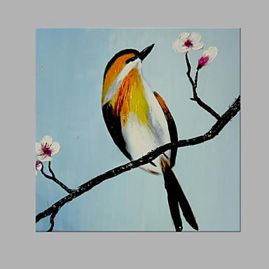 Hang-Painted öljymaalaus Maalattu - Eläimet Abstrakti Kangas