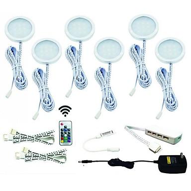 ONDENN 12 W 1200 lm 12 الخرز LED ضد الماء سهولة التثبيت ديكور أضواء تحت مقصورة RGB 85-265 V خزانة سقف درج
