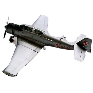 Quebra-Cabeças 3D Maquetes de Papel Brinquedos de Montar Aeronave Faça Você Mesmo Cartão de Papel Duro Clássico Crianças Unisexo Para Meninos Brinquedos Dom