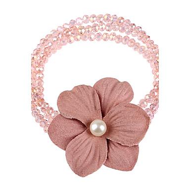 Naisten Ranneketjut Amuletti-rannekorut Strand Rannekorut Strassi Boheemi Käsintehty Muoti Kristalli Tekojalokivi Flower Heart Korut