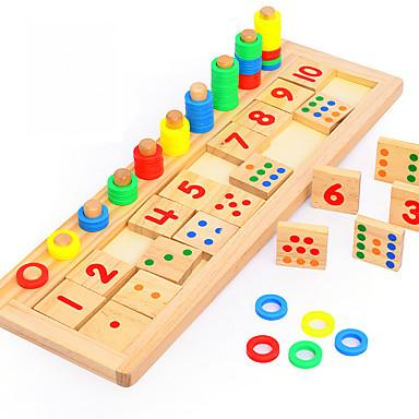 Ferramentas de Ensino Montessori Blocos de Construir Brinquedos Matemáticos Brinquedo Educativo Amiga-do-Ambiente Educação Clássico