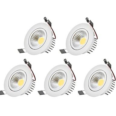 3W 1 LED Dekorativ Led-Nedlys Varm hvit / Kjølig hvit 85-265V Innendørs / Garasje / Oppbevaringsrom / grovkjøkken