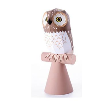 Quebra-Cabeças 3D Maquetes de Papel Artesanato de Papel Brinquedos de Montar Pássaro Eagle Coruja Animais Simulação Faça Você Mesmo