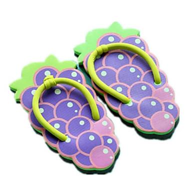 Women's Slipper & Flip-Flop Comfort Summer Canvas Casual Purple Flat