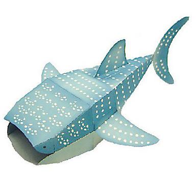 voordelige 3D-puzzels-3D-puzzels Bouwplaat Modelbouwsets Vissen Shark DHZ Klassiek Unisex Speeltjes Geschenk