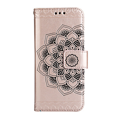 Case For Sony Xperia Z5 / Sony Xperia XP / Sony Wallet / Card Holder / with Stand Full Body Cases Flower Hard PU Leather for Sony Xperia Z5 / Sony Xperia XP / Sony Xperia XA1 Ultra