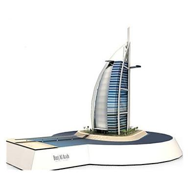3D Puzzles Paper Model Paper Craft Model Building Kit Famous buildings Ship Architecture Burj Al Arab 3D DIY Classic Unisex Gift