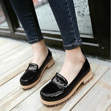 Women's Shoes PU Spring Comfort Sandals Chunky Heel Wedge Heel Stiletto Heel For Casual Black Purple Light Green