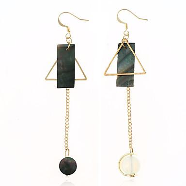 Women's Drop Earrings Acrylic Dangling Style Ferroalloy Acrylic Round Irregular Jewelry Dailywear Casual Stage Costume Jewelry