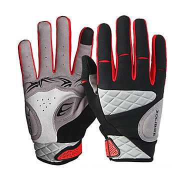 Sports Gloves Unisex Cycling Gloves Spring Summer Bike Gloves Wearable Breathable Protective Sweat-Wicking Durable Full-finger Gloves
