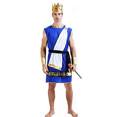 Eventyr Romerske Kostymer Egyptiske Kostymer Cosplay Farao Cosplay Kostumer Party-kostyme Mann Festival/høytid Halloween-kostymer