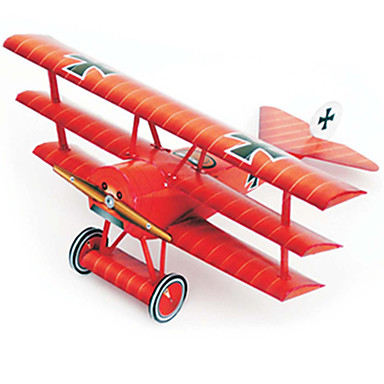 3D Puzzles Paper Model Model Building Kit Plane / Aircraft Fighter Aircraft Hard Card Paper Kid's Boys' Unisex Gift