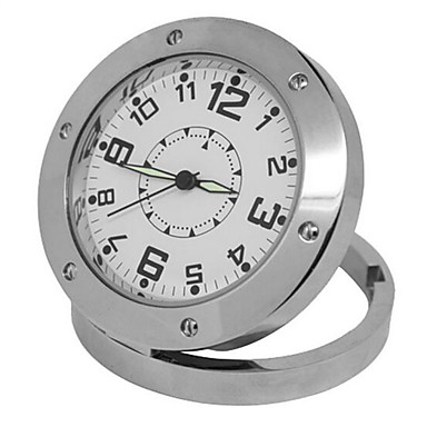 HD 720P Recorder Clock Camera Support TF Card Recording Surveillance Mini Camera