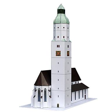 Quebra-Cabeças 3D Artesanato de Papel Torre Construções Famosas Arquitetura Simulação Faça Você Mesmo Clássico Unisexo Dom
