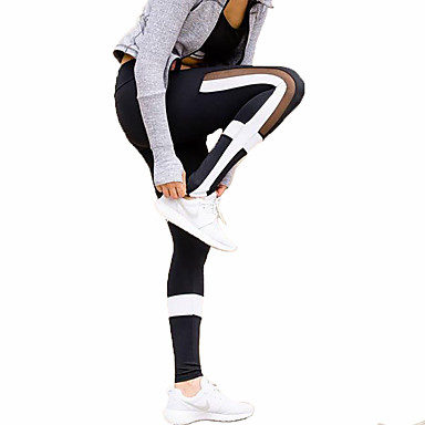 Women's Running Tights Gym Leggings Fitness, Running & Yoga Quick Dry Sports Tights Bottoms Yoga Camping / Hiking Exercise & Fitness