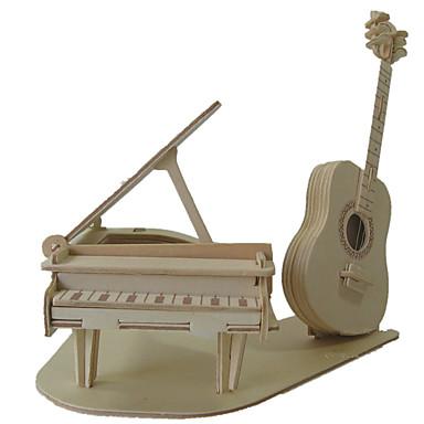 voordelige 3D-puzzels-3D-puzzels Legpuzzel Modelbouwsets Piano Viool Muziekinstrumenten DHZ Simulatie Puinen Klassiek Unisex Speeltjes Geschenk