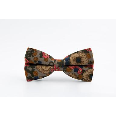 Men's Casual Bow Tie Print