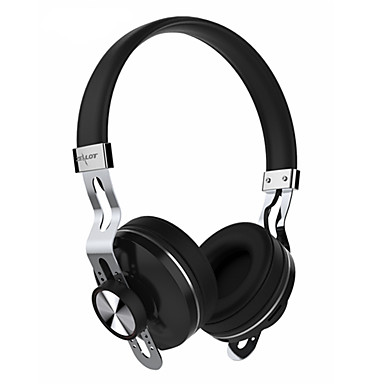 On Ear Wireless Headphones Aluminum Alloy Mobile Phone Earphone with Volume Control with Microphone Noise-isolating Headset