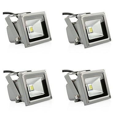 10W LED Floodlight Waterproof Decorative Outdoor New Year's Home Decoration Outdoor Lighting Hallway/Stairwell Everyday Use Warm White
