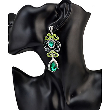 Women's Drop Earrings Rhinestone Personalized Luxury Geometric Unique Design Tassel Classic Vintage Rhinestone Bohemian Basic Friendship