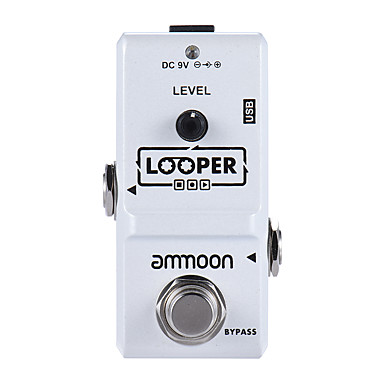 Professional Effect Ammoon Ap-09 Nano Electric Guitar USB Musical Instrument Accessories