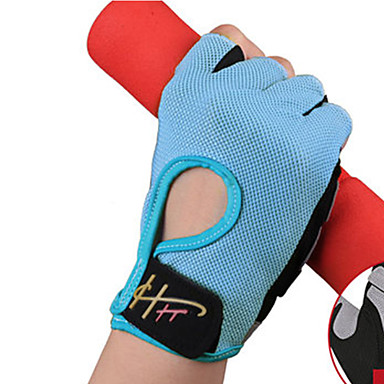 Sports Gloves Unisex Cycling Gloves Spring Summer Bike Gloves Wearable Breathable Protective Sweat-Wicking Durable Fingerless Gloves Lycra
