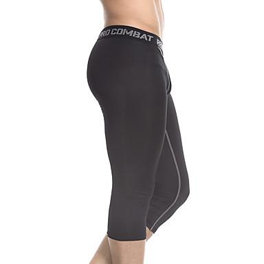 Leggings de Ginástica Leggings de Corrida Fitness, Corrida e Yoga Respirável Leggings 3/4 calças justas Ioga Exercício e Atividade Física