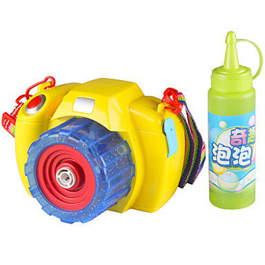 Bubble Blowing Toy / Toy Camera Electric / Music & Light Plastics Pieces Kid's Gift
