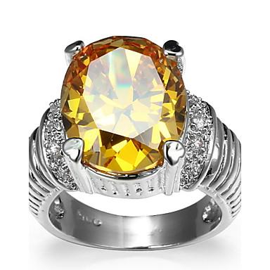 Women's Ring Settings Band Rings Ring Cubic Zirconia Personalized Luxury Geometric Unique Design Classic Rhinestone Bohemian Basic Sexy